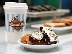 Delicious Kobrick Coffee & yummy cookies at Schmackary's @kobricks.com