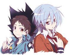 Mahiru and kuro clothing swap