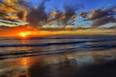 """500px / Photo """"Sunset January 1, 2013 in Oceanside"""" by Rich Cruse"""
