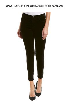 28874a897c7 Joe's Jeans Womens Black Skinny Ankle Cut, 27, Black ◇ AVAILABLE ON AMAZON  FOR