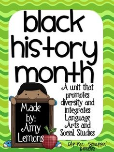 Looking for some new and fresh activities for Black History Month?  This pack includes writing, reading, vocabulary, crafts, and more!Download ...