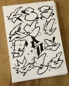 Graffiti Text, Wie Zeichnet Man Graffiti, Graffiti Lettering Alphabet, Graffiti Writing, Tattoo Lettering Fonts, Graffiti Wall Art, Graffiti Tagging, Street Art Graffiti, Style Alphabet