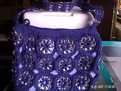 Hand Crocheted Pop Can Tab Purse | eBay