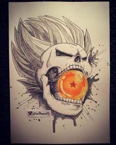 May 1st...Great date for the first member of my Death Crew - Vegeta  Love it. #drawing #dragonballz #dragonball #skull #vegeta #saiyan #art #illustration #anime #love #instagood #deathcrew #death #prince #fanart #coloredpencil @official_vegeta @dragonball_generation @majinbuu_ultimate @dragonballsuper_ @jackofthedust