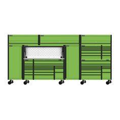 Shop Tool Boxes, Custom Tool Boxes, Tool Storage, Locker Storage, Work Shop Building, Tool Drawers, Harbor Freight Tools, Lawn Equipment, Shop Buildings