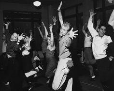 Choreographer Bob Fosse Dancing with Dancers Get premium, high resolution news photos at Getty Images Bob Fosse, V Neck Bodysuit, Ribbed Bodysuit, Tap Dance, Lets Dance, The Pajama Game, Sweet Charity, Dance Like No One Is Watching, Dance Movement