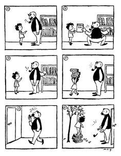 Vater und Sohn by Erich Ohser 1934
