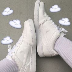 Casual Summer Shoes - Must Have Footwear Collection. Pumped Up Kicks, Wattpad, White Aesthetic, Sock Shoes, Shoes Heels, Shoe Game, Summer Shoes, Retro, Nike Air Force