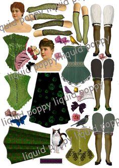 fdf332d56798 Instant Download of Digital Collage Sheet 203 by liquidpoppy, $3.00. Eva  Adolfson