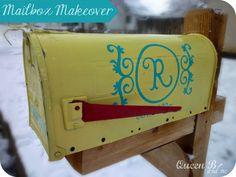 EASY DIY: Mailbox Makeover!  #mailbox #makeover #DIY