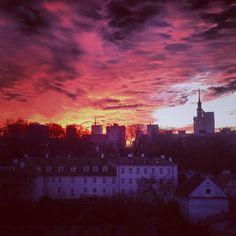 Warsaw sky