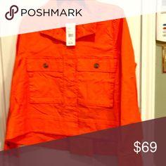 Cabi resort jacket Cabi resort jacket size medium style 5098 new with tags smoke free pet free home CAbi Jackets & Coats Jean Jackets