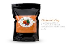 Chicken À La Veg dog food - Fromm Family Foods - a dog food you can feel good about feeding your pet!  No euthanasia drugs here!!