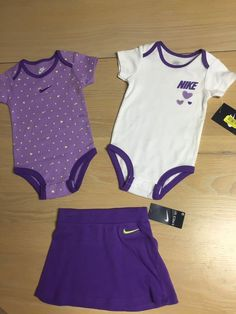 infant ##girls #nike onsie set with skirt 9/12 months - new from $19.99