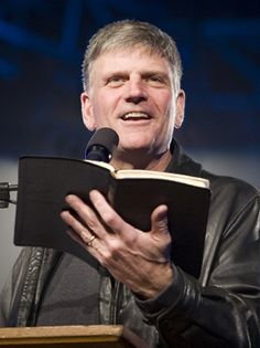 William Franklin Graham III (born July 14, 1952), known publicly as Franklin Graham, is an American Christian evangelist and missionary. He is the president and CEO of both the Billy Graham Evangelistic Association (BGEA) and the international Christian relief organization Samaritan's Purse and my favorite Operation Christmas Child