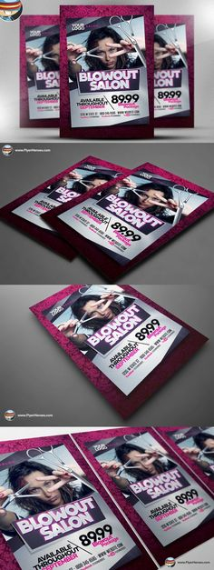 LGBT Camo Party Flyer Template Flyer Templates $900 Flyer - hair salon flyer template