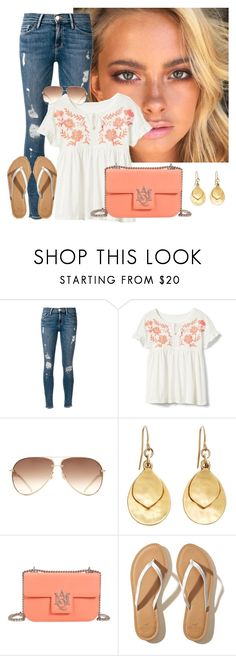 """Untitled #916"" by aubreyspringer ❤ liked on Polyvore featuring Frame, Brooks Brothers, Alexander McQueen and Hollister Co."