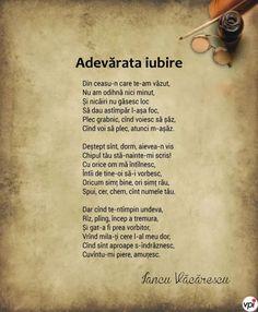 Adevărata iubire - Iancu Văcărescu - Viral Pe Internet Let Me Down, Let It Be, My Love Poems, Garden Quotes, Wallpaper Quotes, Affirmations, Literature, Inspirational Quotes, Thoughts