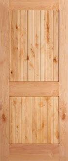 Knotty pine prehung interior doors solid knotty pine right hand interior single prehung for Prehung hickory interior doors