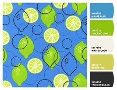 paint colors blue green