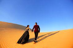 Indian Wedding | Pre-Wedding Shoot | Desert Safari | Roshini Daswani | Abu Dhabi | Middle East