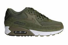 Nike air max 90 essential mens suede classic stone sail dark