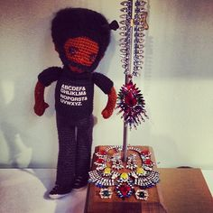 So @questlove came by to pick out his jewelry for tonight's #amfAR gala & tomorrow's #BOXERina show #humblebrag #nbd @craftyiscool