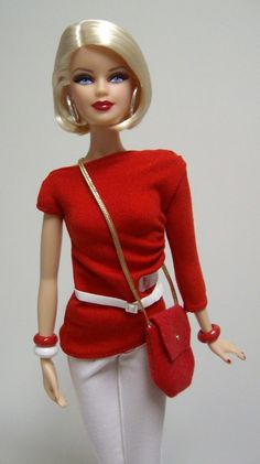 Barbie Basics Model No. 01 — Collection Red by vkluppel | Barbie Collector