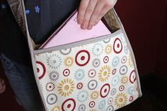 Fabric iPad Tote by Tammy Tutterow for Fiskars.