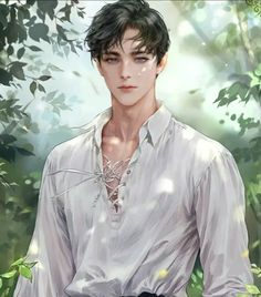 Art Anime Fille, Anime Art Girl, Manga Art, Manga Anime, Dark Anime Guys, Cool Anime Guys, Handsome Anime Guys, Male Character, Character Portraits
