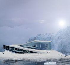 Oslo Opera House / Snohetta/ Photo © Jan Passoth; composition © Dimitrios Tsatsas, Stylepark