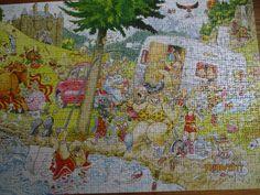 Wasgij ( Jigsaw) puzzel mystery augustus 2017