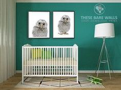 Owl Printable Wall Art | Owl Prints | Owl Nursery | Owl Theme Nursery | Animal Prints | Owl Print | Animal Nursery | Animal Theme Nursery