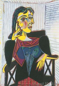 Pablo Picasso - Dora Maar Seated