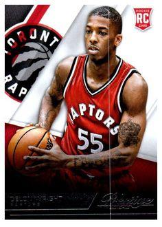 45f0962e0 2015-16 Prestige Delon Wright Rookie Card Toronto Raptors Basketball Teams