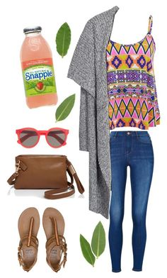 """""""Casual Summer Outfit ☀️"""" by oliviajob ❤ liked on Polyvore featuring Influence, New Look, Billabong, Illesteva and Foley + Corinna"""