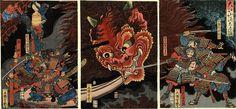 Yoshitsuya The Evil Spirit - 歌川芳艶 - Wikipedia