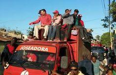 Armario de Noticias: Reformistas muestran fuerza en caravaneos.