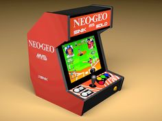 Bartop Neo-Geo System ***FINISHED*** Video Uploaded