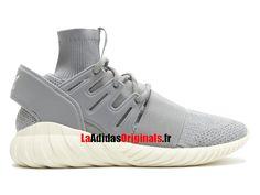 quality design c9882 5b399 Adidas Originals Tubular Doom PK - Chaussures Pas Cher Pour Homme Femme  Gris Blanc