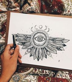 hippie painting ideas 671247519447462350 - Image uploaded by LIMERADE. Find images and videos about art, drawing and moon on We Heart It – the app to get lost in what you love. Source by christophegp Art Drawings Sketches, Tattoo Drawings, Body Art Tattoos, Drawing Art, Pen Art, Piercing Tattoo, Doodle Art, Doodle Tattoo, Future Tattoos