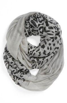BP. Leopard Print Infinity Scarf (Juniors) | Nordstrom