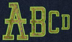 584 Alumni Applique Font - Jolson's Designs