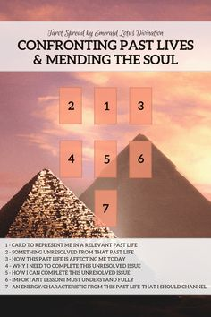 Confronting past lives and mending the soul tarot spread (1)