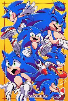 Sonic Doodles by on DeviantArt Sonic The Hedgehog, Hedgehog Art, Shadow The Hedgehog, O Goku, Sonic Generations, Hedgehog Birthday, Sonic Franchise, Sonic Fan Characters, Sonic Fan Art