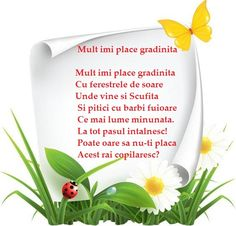 Poezie - Mult imi place gradinita Art For Kids, Art Projects, Kindergarten, Songs, Autism, Google, Art For Toddlers, Art Kids, Kindergartens