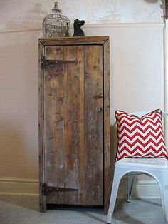 Shabby Chic Rustic Pantry Linen Cabinet Aged 39 N 39 Distressed Furniture Pinterest Vintage