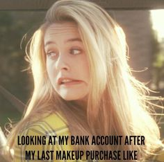 This may be true for some but not for me. I never have to spend money on my makeup addiction bc I'm a YOUnique Presenter. Join my team today and never have to spend money on makeup or skincare AGAIN. Go my website and click join, then click register.  www.youniqueproducts.com/jennmayo www.facebook.com/JennLoves3DLashes