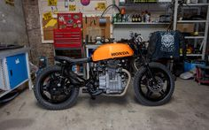 '80 Honda CX500 Brat by Woodgates Motorcycles