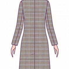 Patrones Técnicos Online - Tienda online de patrones - Patrones a medida Dresses For Work, Fashion, Dress Patterns, Full Sleeves, Store, Patterns, Dressmaking, Women, Moda